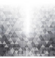 technology abstract in white light effect design i vector image