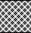 black and white geometrical square pattern vector image vector image