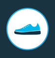 sports shoe icon colored symbol premium quality vector image
