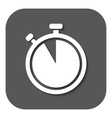 The stopwatch icon Countdown symbol Flat vector image