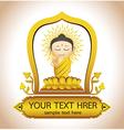 Buddha Thailand Art vector image vector image