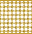 gold glitter square tile seamless pattern vector image vector image