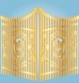 golden gate vector image vector image