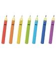 pencils smilies vector image vector image