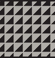 seamless pattern black and white geometric design vector image vector image