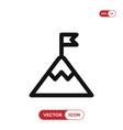 top icon vector image vector image