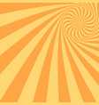 abstract spiral background - design from twisted vector image vector image