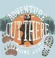 adventure outthere vector image vector image