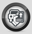 car warranty icon vector image