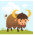 cartoon american bull
