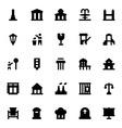 City Elements Icons 9 vector image vector image