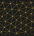 Gold low polygon triangle pattern