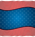Memorial Day abstract USA flag colors background vector image vector image