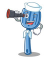 sailor spatula character cartoon style vector image vector image