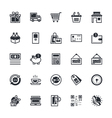Shopping Icons 1 vector image vector image