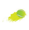 tennis ball icon with an effect vector image