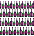 bottle wine background icon stock vector image