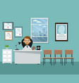 doctor office professional practitioner vector image