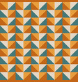 geometric bright multi colored background vector image vector image