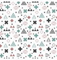 geometric scandinavian seamless pattern abstract vector image