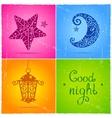 Good night vector image vector image