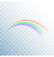 rainbow icon abstract rainbow image colorful vector image vector image