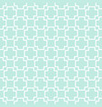 seamless geometric pattern plus sign on green vector image vector image