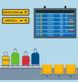 aviation room icons airline graphic vector image vector image