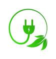 green power concept vector image