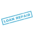 Loan Repaid Rubber Stamp vector image vector image