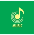 logo musik vector image vector image