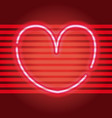 love neon sign vector image vector image