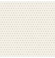 Seamless polka dot brown pattern with circles vector image vector image