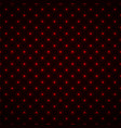 abstract seamless pattern with glowing dots neon vector image vector image