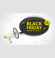 black friday sale shopping and discount banner vector image vector image