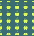 hand drawn simple seamless pattern with apples-09 vector image vector image
