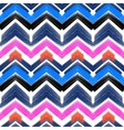 Multicolor hand drawn pattern zigzag