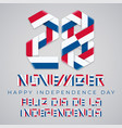 november 28 panama independence day vector image vector image
