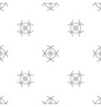 quadrocopter pattern seamless vector image