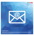 send mail icon vector image vector image