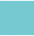 wave pattern background blue green vector image