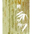 Zen Bamboo vintage vector image vector image