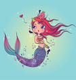 Lovely Mermaid vector image