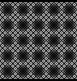 abstract seamless geometrical square pattern vector image vector image