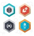Basketball icons Ball with basket and fireball vector image vector image
