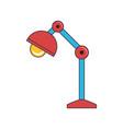 desk lamp icon image vector image vector image