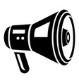 electric speaker icon simple style vector image vector image