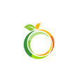 fresh fruit logo symbol icon design vector image vector image