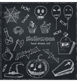 Happy Halloween Trick or Treat Doodles Hand Drawn vector image vector image