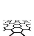 texture of honeycomb vector image vector image